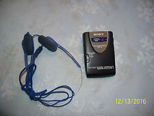 Vintage Sony Walkman Srf-46 Stereo With Belt Clip Works Great