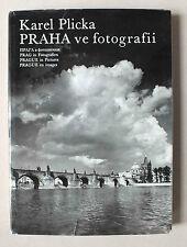 PRAGUE EN IMAGES - PRAHA VE FOTOGRAFII - KAREL PLICKA - ORBIS - 1960 *