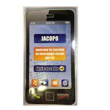 CUMPLEAÑOS tarjeta de musical en teléfono suena secretaría nome JACOPO