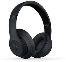 NEW Beats by Dr. Dre Studio3 Wireless Matte Black Over Ear Headphones MQ562LL/A