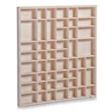 Zeller 12106 - Mensola portaoggetti in legno di Pino Naturale dimensioni 52 x 3