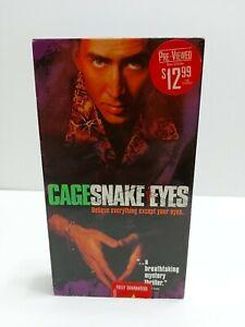 Snake Eyes (VHS, 1998)