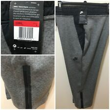 Nike Womens Gray Size L Sportswear Tech Fleece Cropped Sneaker Pants $110 NWT