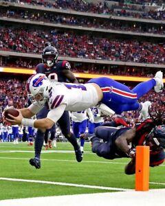JOSH ALLEN 8X10 PHOTO BUFFALO BILLS PICTURE NFL FOOTBALL DIVE