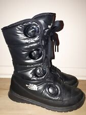 The North Face Womens Goose Down Utility Lace Up Large Eyelets Winter Snow Boots