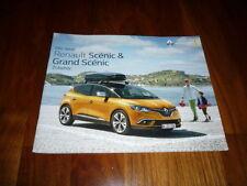 Renault Scenic Zubehör Prospekt 08/2016
