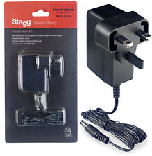 Stagg PSU-9V1AR-UK 9v Power Adaptor for Effect Pedals and Boards