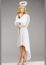 Adult Womens White Christmas Angel Costume
