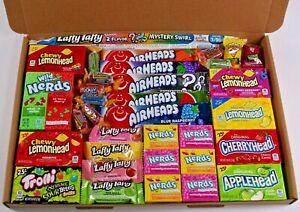 American sweets gift box - USA candy hamper - nerds - Air heads - laffy taffy