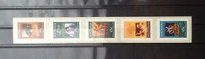 Australia 1995 Centenary of Cinema Complete P&S Set 5v MNH