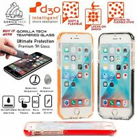 Gorilla Tech D3O Shiny Mesh Gel Case Impact Protection Cover for Apple Samsung