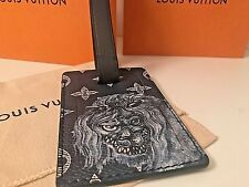 "Louis Vuitton ""Lion"" Limited Edition Chapman Brothers Luggage Tag SOLD OUT"