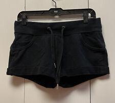 New listing LULULEMON Flashback Short Black Cotton French Terry Cuffed Sweat Shorts Size 4