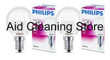 2 X Horno de marca Philips 40w lámpara SES E14 pequeño tapón de rosca 300 ° Bombilla Cocina