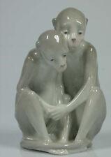 Affen Affe ungemarkt Pfeffer Gotha  figur tierfigur Porzellanfigur