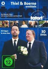 Tatort Münster - Thiel und Boerne ermitteln Fall 1-30 [30 DVDs] (2017)