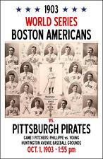 1903 Mercersburg Classic Sports Baseball Poster 20x30