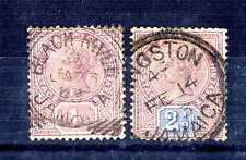 JAMAICA - 1889-1891 - Regina Vittoria in un cerchio. T2050