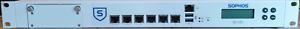 1U Pfsense firewall 8Gb RAM,120GB SSD, 6*1Gb ports, VGA, 3*USB ports, RS232