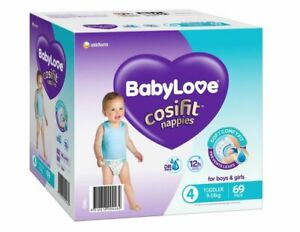 BabyLove Nappies Jumbo Pack Toddler 69 Pack