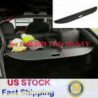 For Tesla Model Y 2020 2021 Rear Cargo Trunk Luggage Cover Security Shield Shade