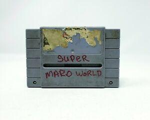 Super Mario World (Super Nintendo Entertainment System) SNES Authentic Tested