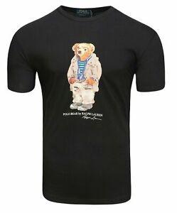 Ralph Lauren Polo Bear T-shirt Tee Short Sleeves Custom Slim Fit S M L XL XXL