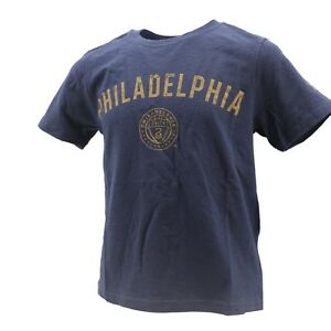 Philadelphia Union Official MLS Adidas Apparel Kids & Youth Size T-Shirt New