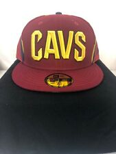 2f9251e89fd Cleveland Cavaliers Cavs Red Fitted 7 1 2 Era Hat Cap 59fifty NBA