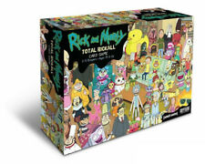 Rick and Morty: Total Rickall Cooperative Board Card Game 2-5 Players
