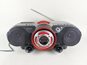 Sony CFD-G500 Stereo CD / Radio / Cassette Boombox Power Drive Woofer TESTED