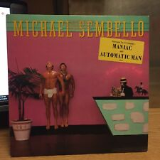 Michael Sembello Bossa Nova Hotel LP Warner Bros 1983 VG+ Hit: Automatic Man