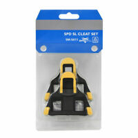 SM-SH12 Float Fixed SPD-SL Road Bike Bicycle Pedals Cleats Clipless Pedal Yellow