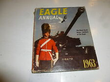 EAGLE ANNUAL - 1963 - UK Comic Annual (With Dust Jacket)