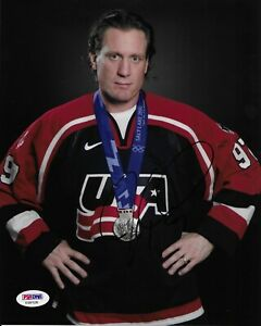 Jeremy Roenick Signed 8x10 Photo Autographed PSA/DNA COA Team USA Olympic Hockey