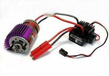 Redcat Hobbywing WP-1040 Waterproof ESC 550 19T Brushed Motor Combo w/ Heatsink