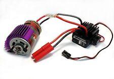 Redcat Hobbywing WP-1040 Waterproof ESC 550 19T Brushed Motor Combo w/ Heatsink