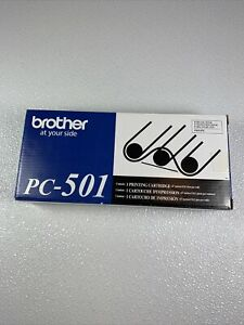 Brother PC-501 Genuine Printing Cartridge Brand NEW Sealed FAX-575