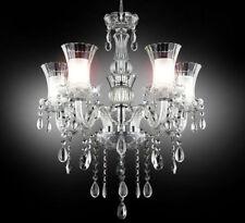 XL Kristall Glas Kronleuchter Decken Leuchte Lampe Licht Lüster klassisch 5-Arm