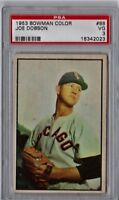 1953 Bowman Color Joe Dobson #88 PSA 3 P811