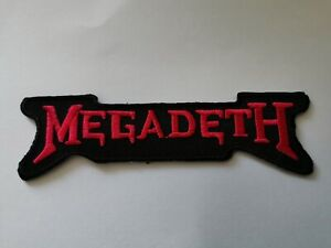 Megadeth Sew or Iron On Patch