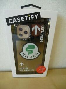 Für Apple 11 Moncler House of Genius Handyhülle SmartCase Cover Neu Edition