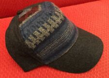 e421d380b Target Wool Aztec Winter Print Warm Baseball Cap Hat SnapBack Adj Charcoal  Color