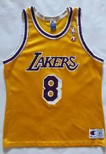 Vintage Los Angeles Lakers Kobe Bryant Champion Jersey Size 44
