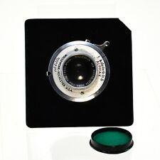 "Wollensak 4x5 Series IIIA EX.W.A. Alphax 3.5""focus SN 13701 With lens board"
