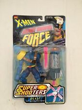 "Marvel X-Men Secret Weapon Force BEAST 6"" Action Figure Super Shooters Toy Biz"