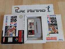 SUPER NINTENDO SNES NBA LIVE 95 MUY BUEN ESTADO COMPLETO PAL ESPAÑA