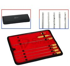 Liposuction Cannulas Set of 5 with Handle and Adapter Dental Legacy Instruments