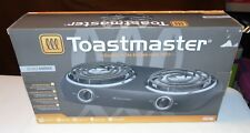 BRAND NEW Vintage Toastmaster Model TM-20DB Double Range Electric Burners Warmer