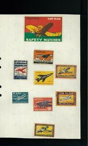 Avión Pegatinas / de Cenicienta De Partido Cajas De India. Red 29.95